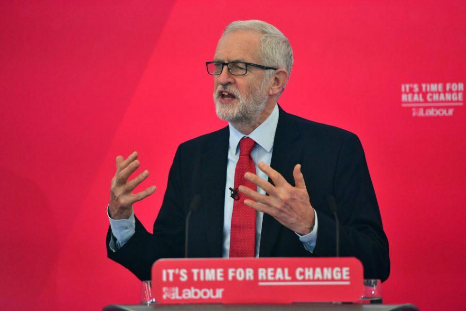 Jeremy Corbyn labels Labour nationalisation plans as 'very modest'