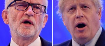 General Election 2019: Boris Johnson accuses Jeremy Corbyn of 'ducking' Brexit ahead of TV debate