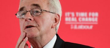 John McDonnell threatens to delist firms that fail to tackle climate issues