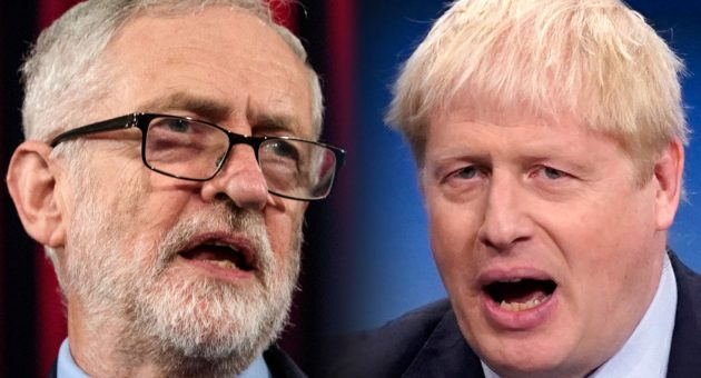 General Election 2019: Jeremy Corbyn, Labour Leader and Boris Johnson, Prime Minister and Conservative Leader (Photo credit: Getty Images)