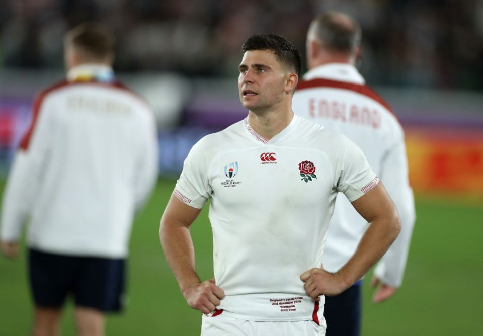 YOKOHAMA, JAPAN - NOVEMBER 02:  Ben Youngs of England looks dejected after their defeat during the Rugby World Cup 2019 Final between England and South Africa at International Stadium Yokohama on November 02, 2019 in Yokohama, Kanagawa, Japan. (Photo by David Rogers/Getty Images)