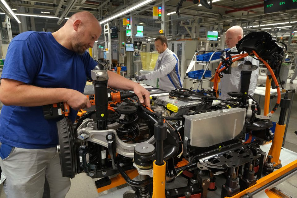 Hope for German economy as factory orders beat predictions