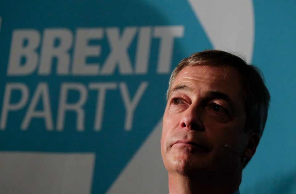 Police 'assessing' allegations Brexit Party candidates were offered peerage - CityAM