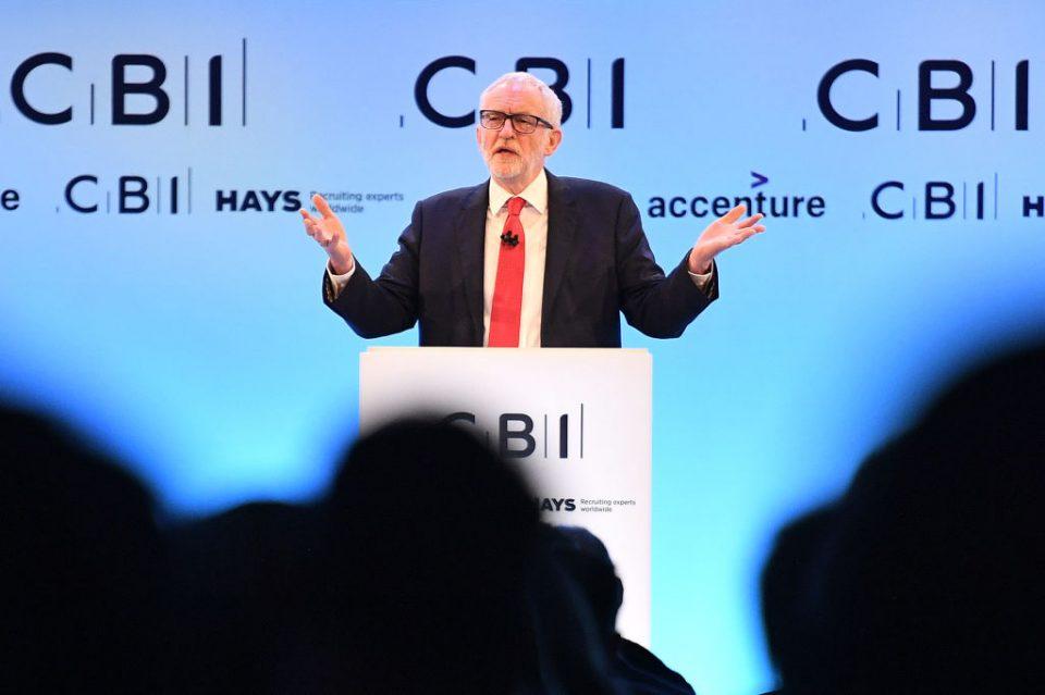 Jeremy Corbyn 'investment blitz' pitch to businesses draws frosty response