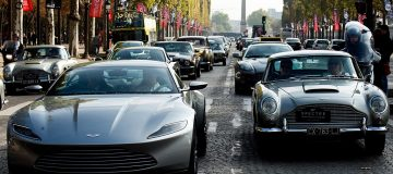 Aston Martin is hoping next year's James Bond movie will boost sales