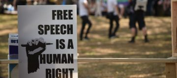 To speak or not to speak: The battle for free speech