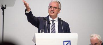 Major shareholder piles pressure on Deutsche Bank chairman