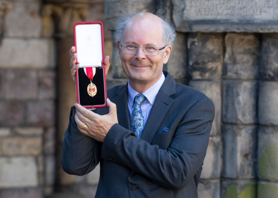 John Curtice receives knighthood in 2018