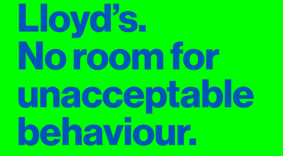 Lloyd's of London poster