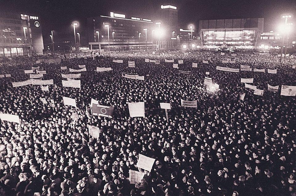 Montagsdemonstration Friedliche Revolution Armin