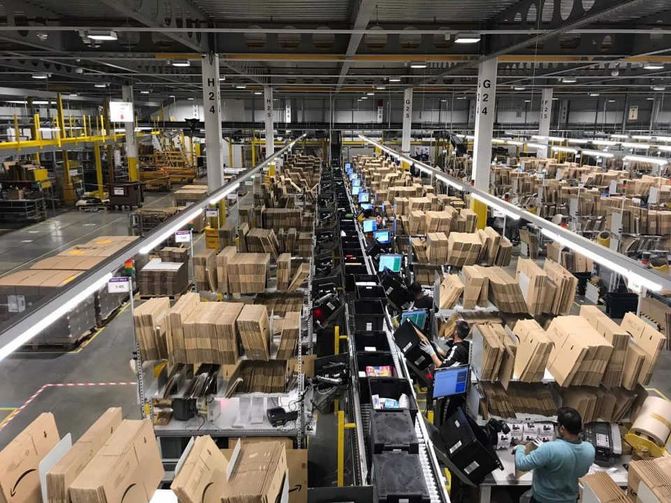 Amazon's Black Friday warehouse