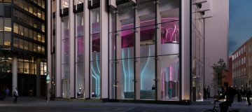 First look: Zaha Hadid Architects' flower-inspired lobby for Southbank Tower