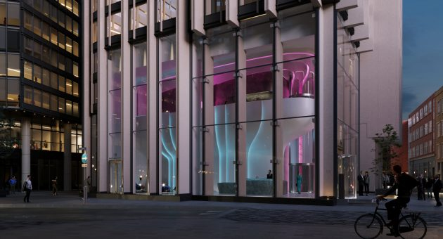 Zaha Hadid design for Southbank Tower lobby