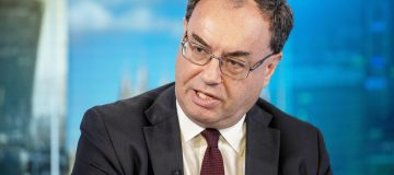 Outgoing FCA boss Andrew Bailey