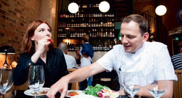 Chef's Table: Flor's James Lowe invites My Dad Wrote a Porno creator Alice Levine for lunch