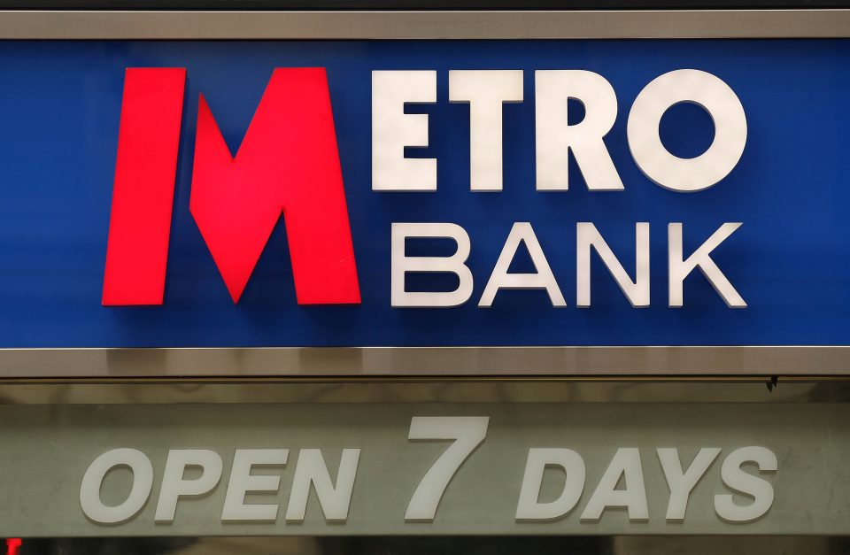 Metro Bank launches cash delivery service to woo smaller firms
