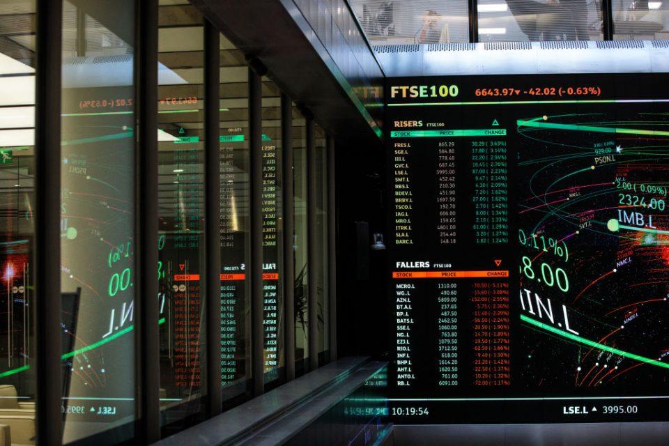 The FTSE 100 markets coronavirus