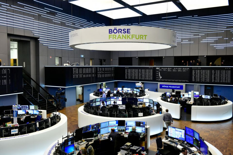 Frankfurt Stock Exchange The Day After Brexit Deal Struck Down