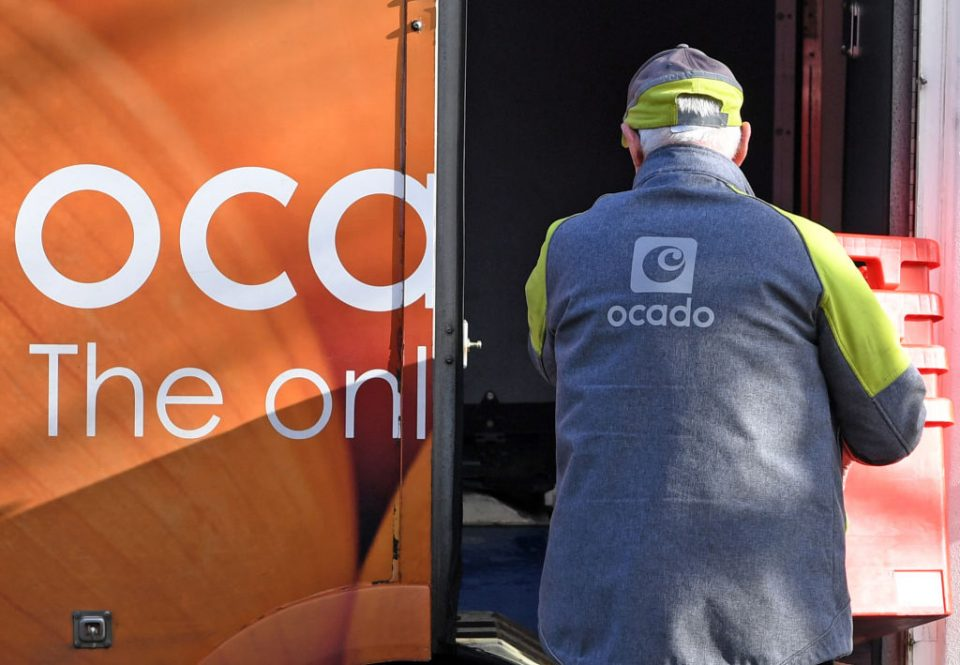 Ocado Retail said this morning that its revenue had climbed 40 per cent in the first quarter as lockdown restrictions continue to power a surge in online shopping.