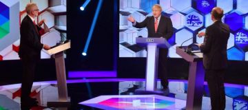 General election 2019: Johnson and Corbyn clash on Brexit in debate