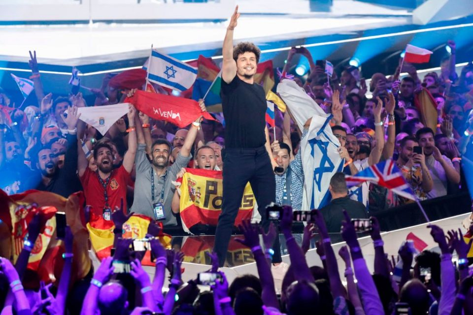 ISRAEL-EUROVISION-ENTERTAINMENT-MUSIC