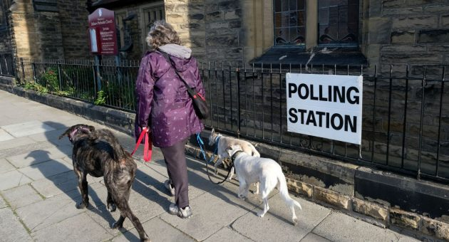 British Voters Go To The Polls In Local Elections