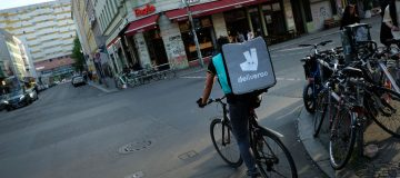 Deliveroo hoped the investment would give it an edge against Uber Eats and Just Eat
