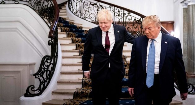 Should Tory strategists be nervous now Donald Trump is in town?