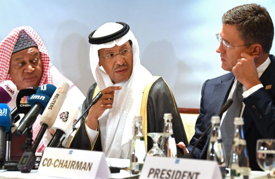 Saudi Arabia is seeking to push Opec into deepening oil cuts until at least June 2020 as it prepares for December's listing of Saudi Aramco.