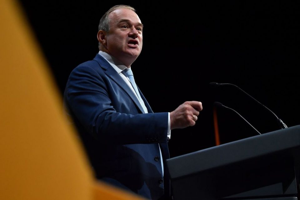 Election live: Ed Davey to lead Liberal Democrats