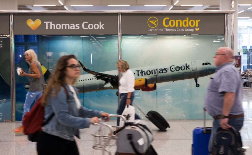 More than 150,000 Thomas Cook customers were stranded abroad when it went bust