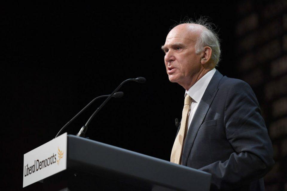 Sir Vince Cable calls Royal Mail share slump 'vindicating'