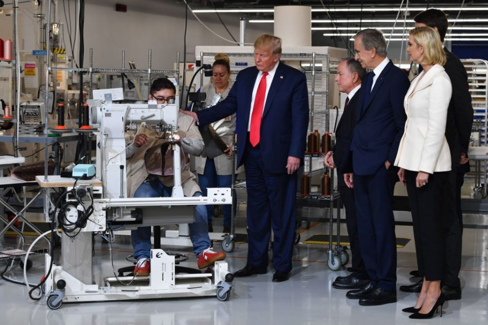 President Donald Trump's trade wars have shaken US manufacturing in 2019