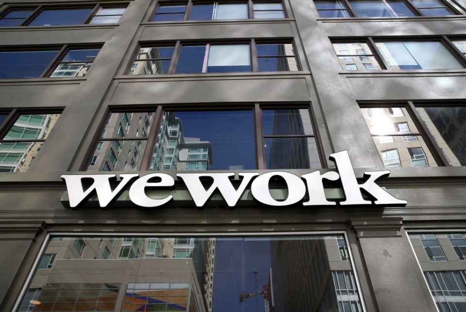 Softbank taps Goldman for Wework debt financing plan