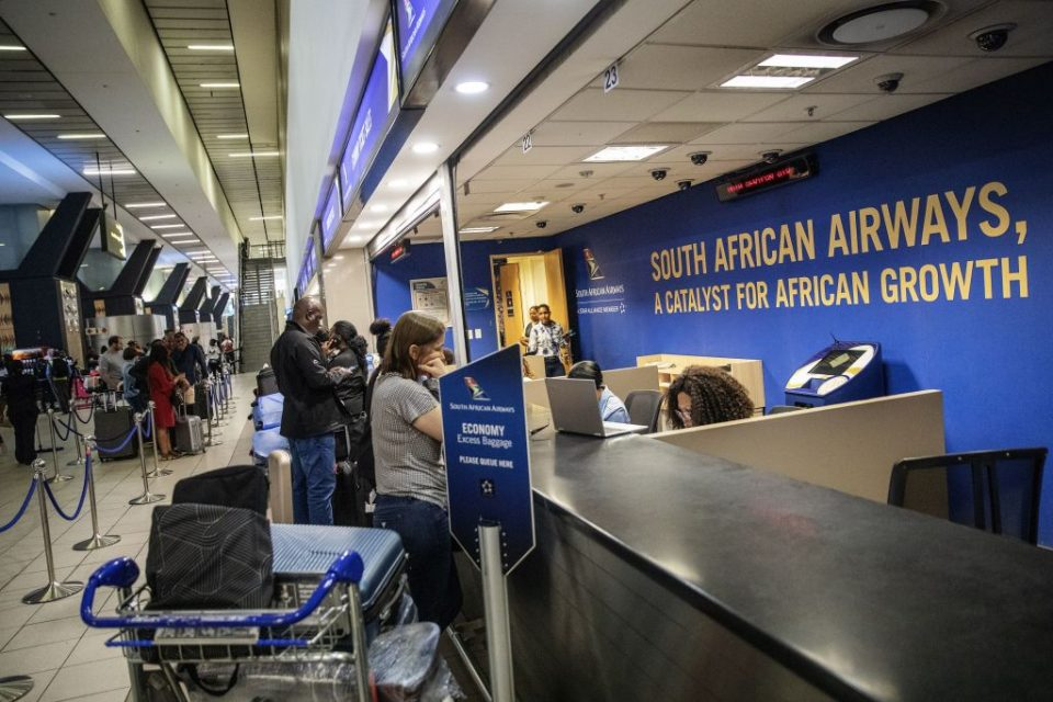 South African Airways is hoping for a government bailout by the end of the week