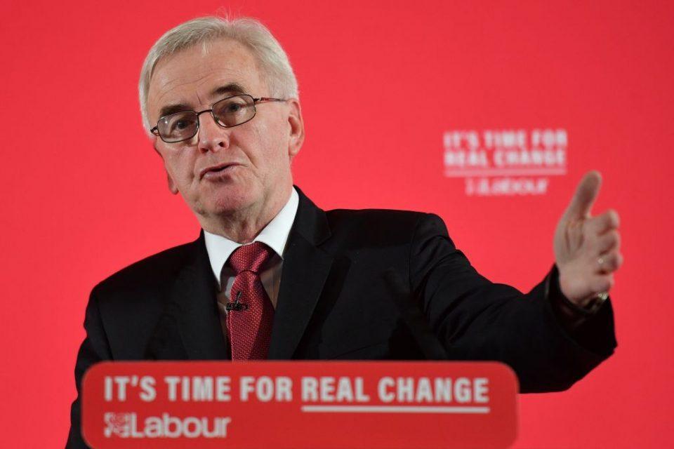 John McDonnell: A Labour government would save families thousands