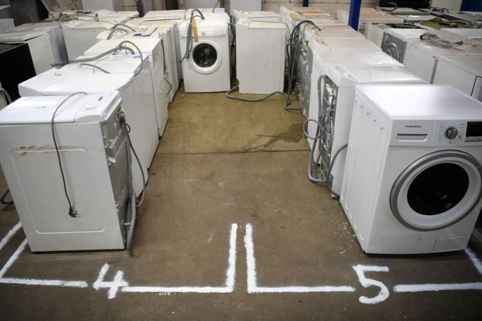 Whirlpool is recalling up to 519,000 washing machines over a fire risk