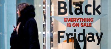 High street sales plunge week before Black Friday
