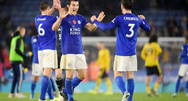 Leicester's solid defence has been the foundation of improvement