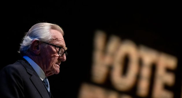 Why Michael Heseltine doesn't want the Tories to win this election