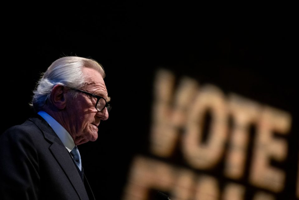 Tory grandee Michael Heseltine wants a hung parliament in this election