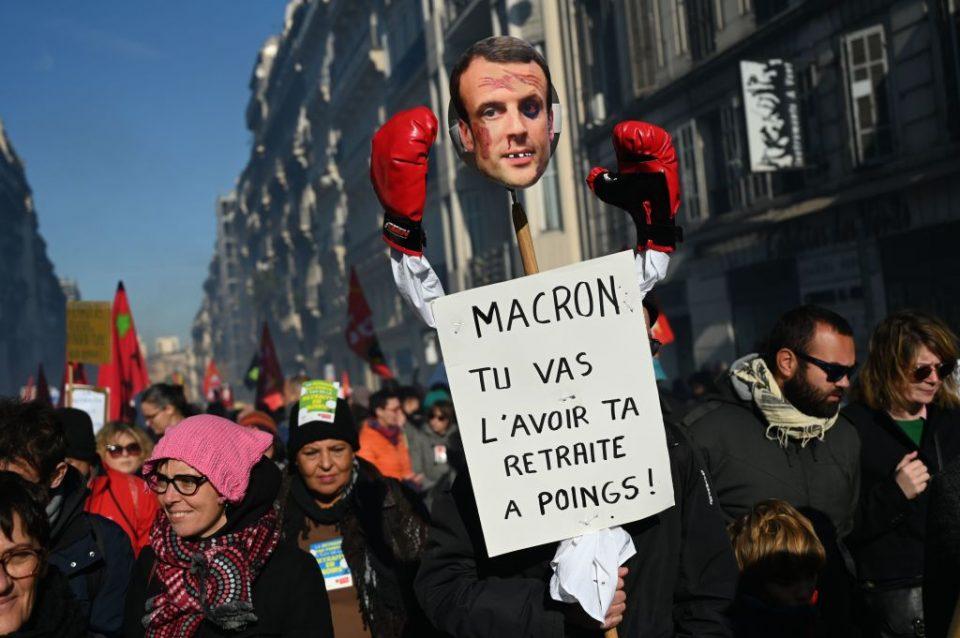 FRANCE-POLITICS-STRIKE