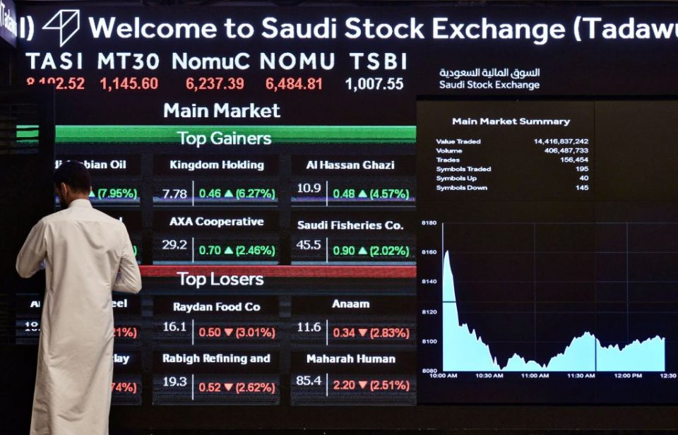 Aramco hits $2 trillion as shares rise for fourth day in a row