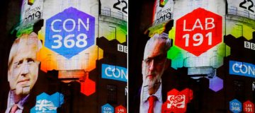 Sterling soars as exit poll predicts huge Tory majority
