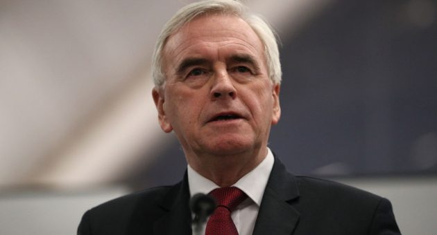 John McDonnell apologises for loss before blaming the media for the result