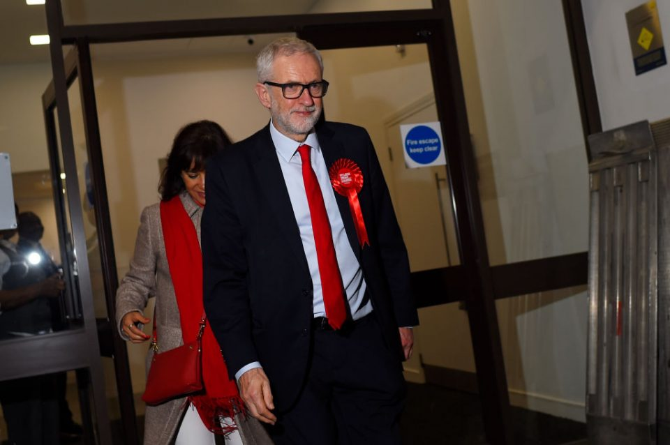 Jeremy Corbyn Is Returned As MP For Islington North