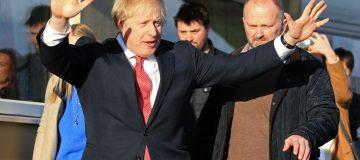 Boris Johnson thanks north of England for 'breaking voting habits of generations'