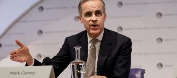 Bank Of England governor Mark Carney is stepping down from his role at the end of January