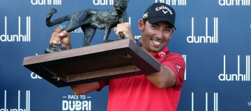 Pablo Larrazabal's comeback win at the Alfred Dunhill Championship was a triumph for doggedness and passion