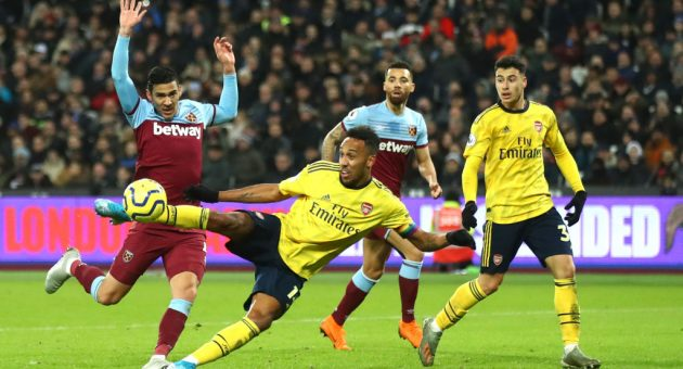 West Ham 1-3 Arsenal: Gunners' nine-minute burst enough to give Ljungberg a first victory and end nine-game winless run